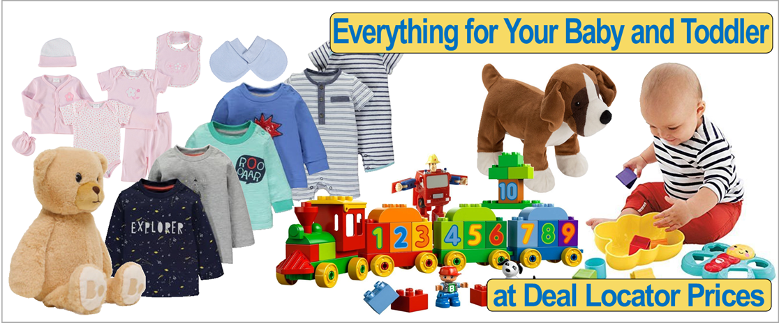 Online Deals for Baby & Toddler from Deal Locators