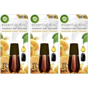 AirWick Essential Mist Mandarin & Sweet Orange 3 x 20ml