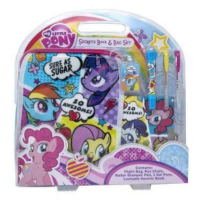 My Little Pony Secrets Book & Bag Set