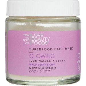 Love Beauty Foods - Vegan Super food Face Mask - Glowing