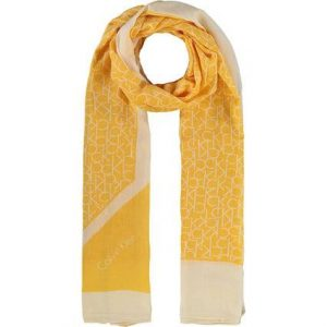 Calvin Klein Womens Sunflower Scarf