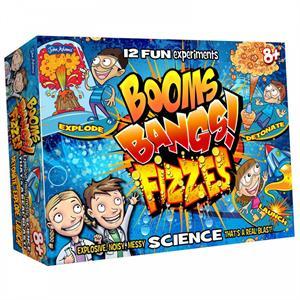 John Adams Boom Bang Fizzes Explosive Messy Science Kit