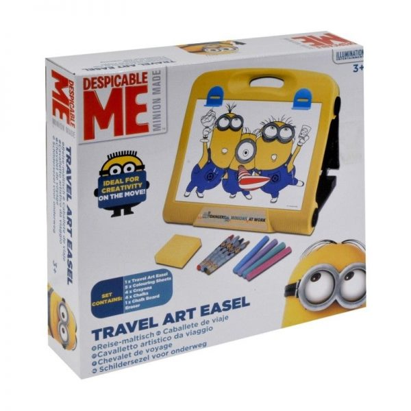 Despicable Me Minion Made Travel Art Easel