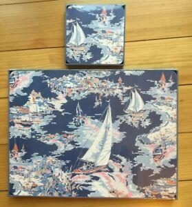 Laura Ashley Riviera Placemats & Coaters