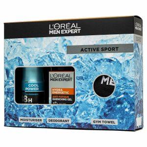L'Oreal Men Expert Active Sport 3 Piece Gift Set For Him