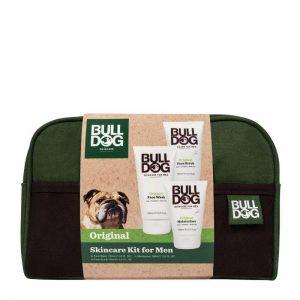 Bulldog Original Skincare Wash Bag Kit With Lip Balm