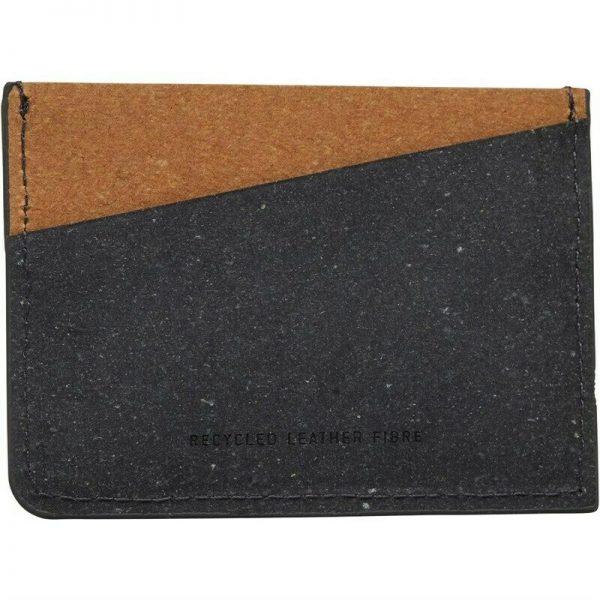 Gentlemen's Hardware Mens Recycled Leather Fibre Card Holder