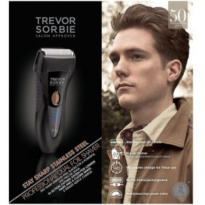 Trevor Sorbie Stay Sharp Stainless Steel Professional Dual Foil Shaver