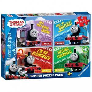 Ravensburger Thomas & Friends - 4 x 42pc Jigsaw Puzzles Bumper Pack - 4 Years +