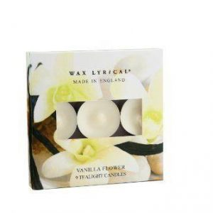 Wax Lyrical Vanilla Flower 9 Fragranced Tealights