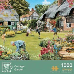 Corner Piece Puzzles - Cottage Garden - 1000 Pieces