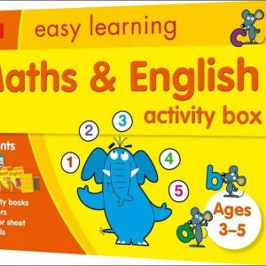 Maths and English Activity Box Ages 3-5: Collins Easy Learning