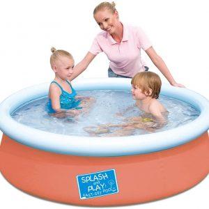 Bestway Splash & Play Orange Fast Set Pool 1.52m x 38cm