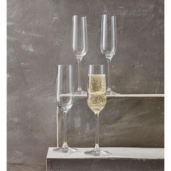 LINEA Richmond Champagne Flute Set of 4