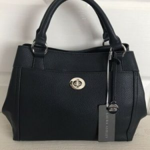 Laura Ashley Medium Grab Bag - Navy