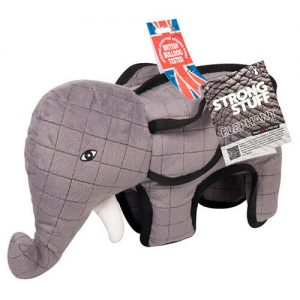 Strong Stuff Elephant Dog Toy