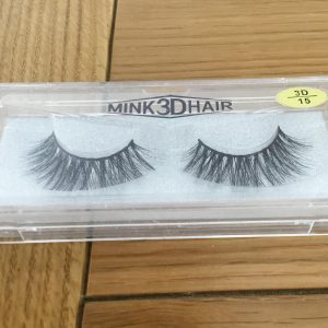3 x Packs MINK 3D HAIR False Lashes 3D/15
