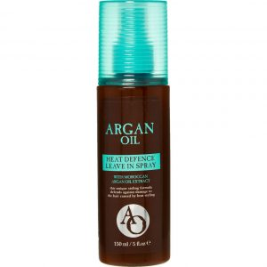 2 x Cape Town Toiletry Co-AO Argan Oil Heat Defence Leave In Spray 150ml