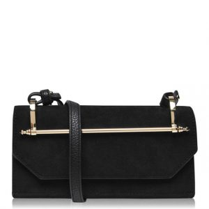 LINEA Black Isla Bar Purse with Strap