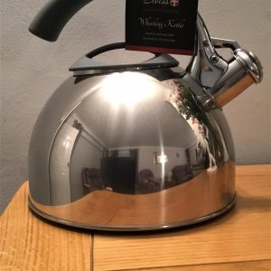 SWISS PRO Stainless Steel Whistling Kettle 2.3L