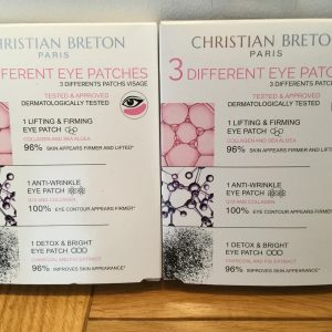 2 x Boxes Christian Breton Eye Patches-LiftingFirming/Anti Wrinkle/Detox