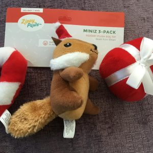 Zippy Paws Miniz 3-Pack Squeaky Plush Dog Toy