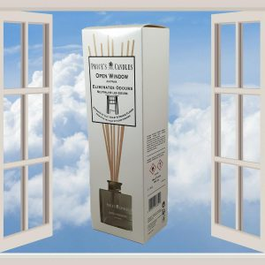 2 x Price's Candles Open Window Odour Eliminating Reed Diffuser 100ml