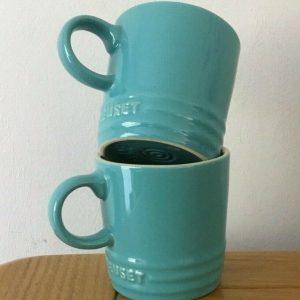 Le Creuset Turquoise Espresso Mug 0.1L
