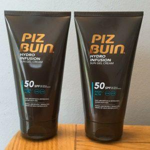 2 x Piz Buin Hydro Infusion Sun Gel Cream SPF50 -150ml