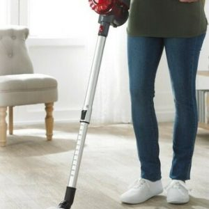 EGL Corded Stick 2 in 1 Vacuum Cleaner 600W Upright Handheld Bagless Vac RED