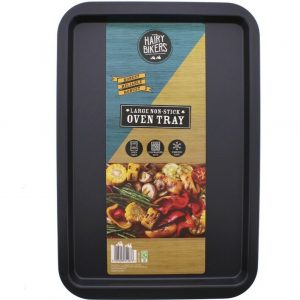 2 x The Hairy Bikers Large Non Stick Oven Tray 43 x 29cm